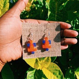 ✨Handmade Puzzle Earrings ✨